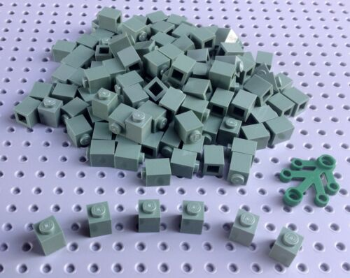 3005 x15 in a set *BRAND NEW City Star Wars Friends Lego Sand Green 1x1 Brick