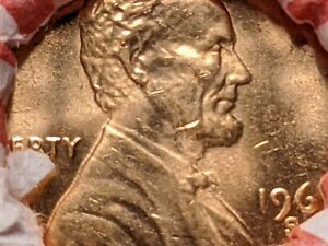 1 Roll 1969-S Lincoln Memorial Cent San Francisco Federal Reserve Bank (OBW)