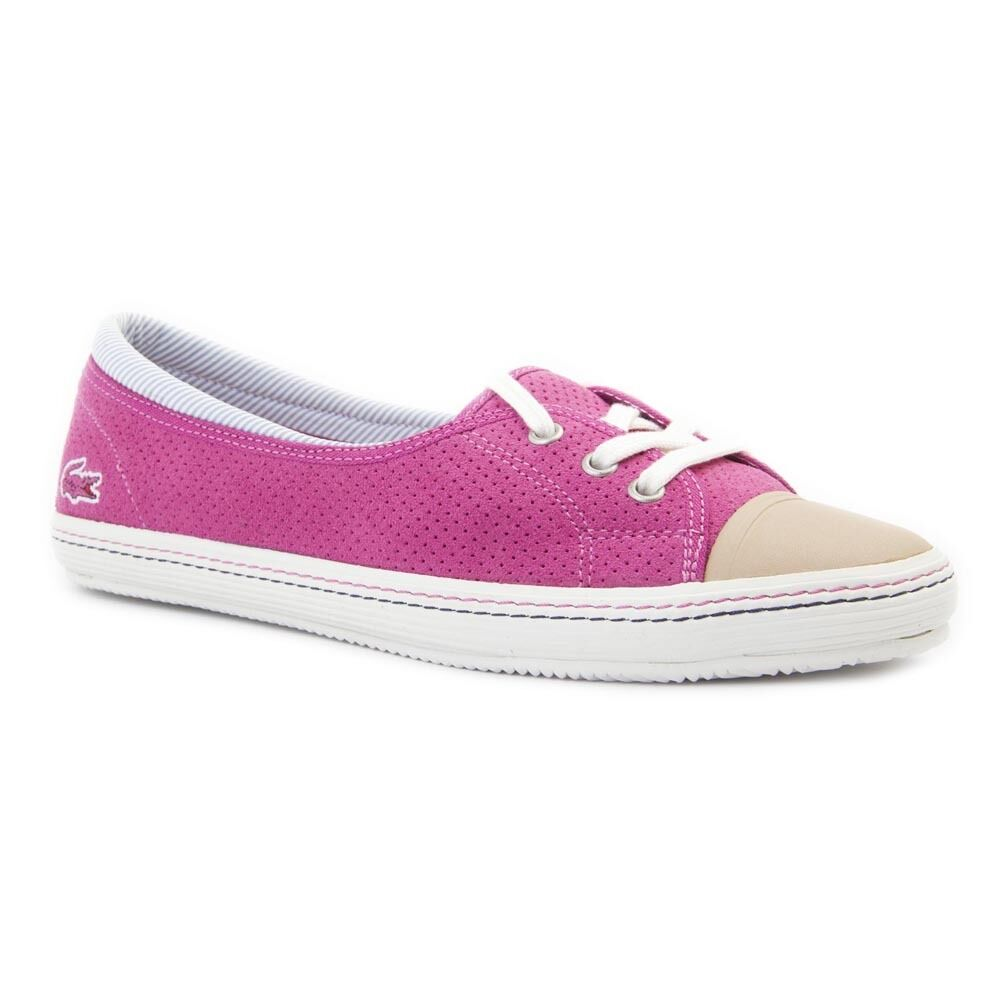 Lacoste Rohini 5 AP SRW Pink Leather shoes Genuine BNIB