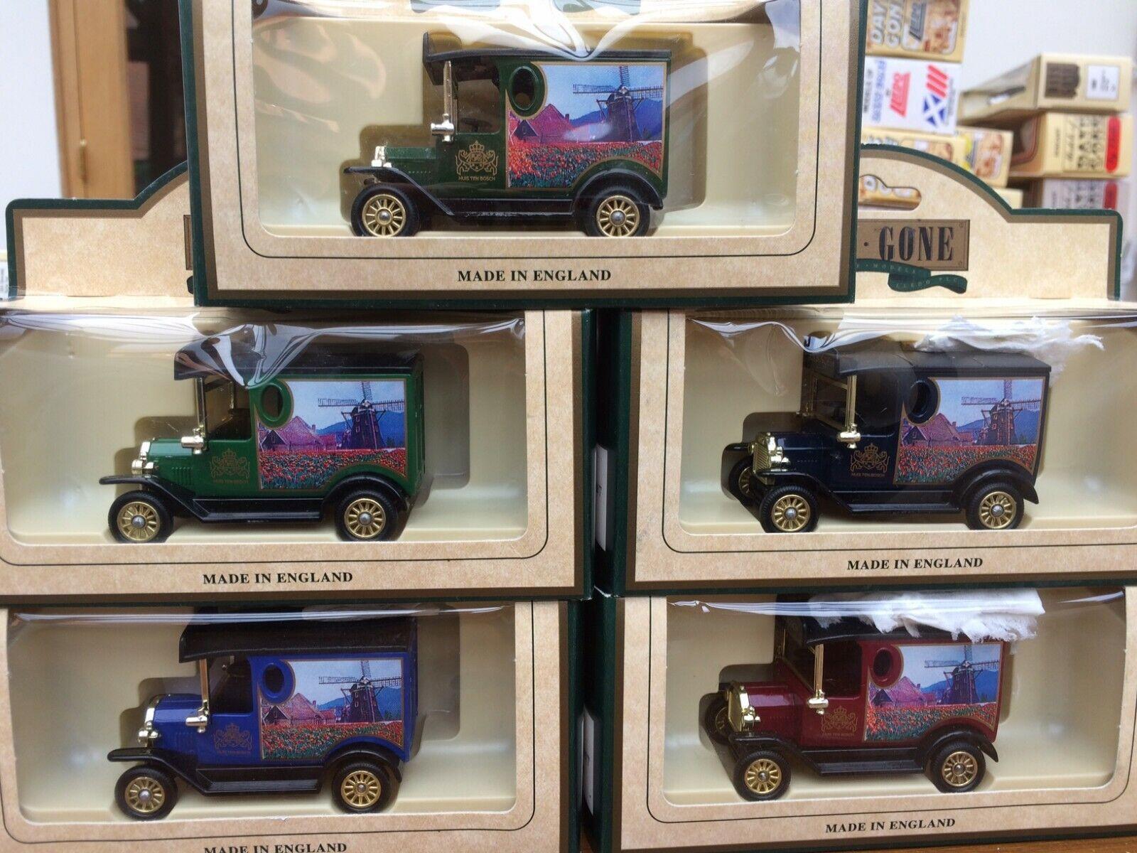 LLEDO DG6 Ford T Van Huis Ten Bosch Models Japanese DG6130 6131 6132 6134 6135