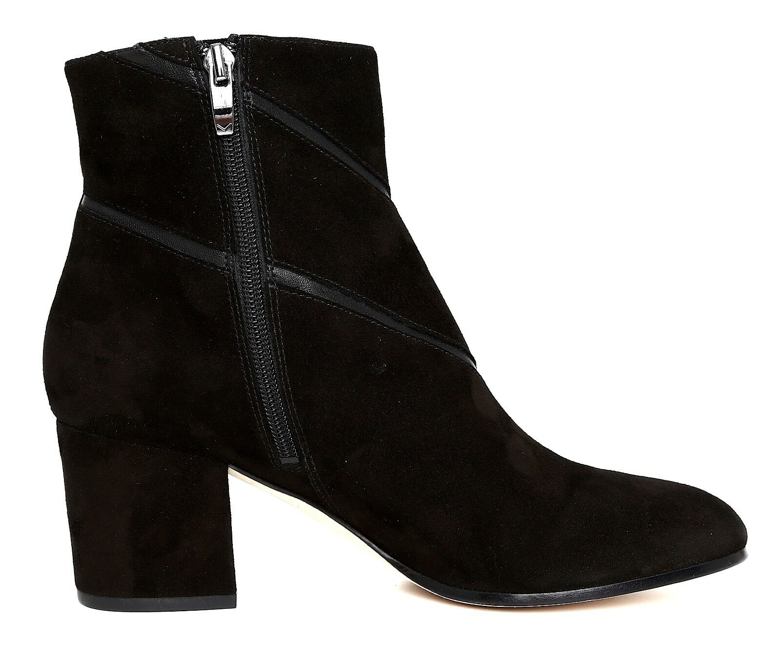 Via Spiga Fito Suede Ankle Ankle Ankle Boot Black Women Sz 8.5 M 5740  4ecb99