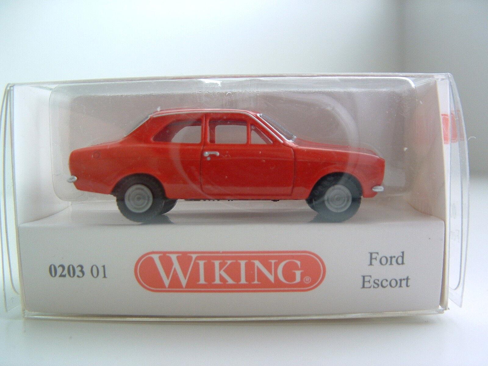 Wiking 0203 01 H0 1 87 Ford Escort OVP B228