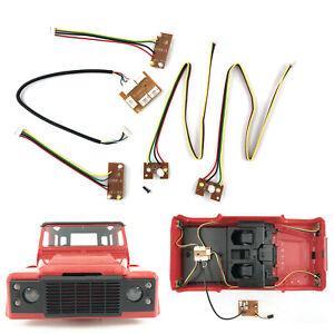 Upgrade-Modifikation-Lighting-Licht-Set-fuer-MN99-MN99S-D90-RC-Climbing-Auto-1-12