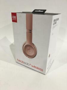 Beats Solo3 Wireless On Ear Headphones Rose Gold Ob 190198105455 Ebay
