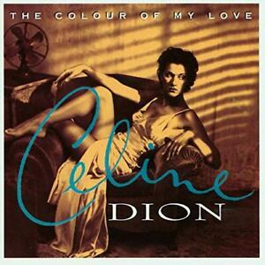 Celine-Dion-The-Colour-of-My-Love-Opaque-Turquoise-Vinyl-VINYL