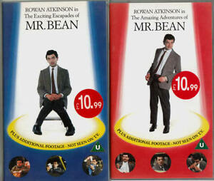 THE-AMAZING-ADVENTURES-The-Exciting-Escapades-OF-MR-BEAN-ROWAN-ATKINSON-VHS
