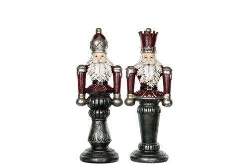 Weihnachts-Deko-Figur Nussknacker shabby Nostalgie Landhaus Vintage 40cm Advent