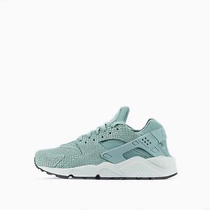 Nike Air Huarache Run stampa Donna Scarpe in Cannon / PURO PLATINO