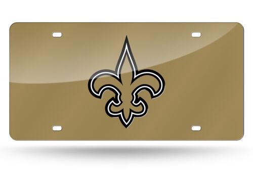 New Orleans Saints NFL Football License Plate Auto Tag Vanity Plate