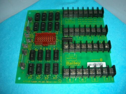 Details about  /1pcs Used BAILEY NTDI01 6632113A1