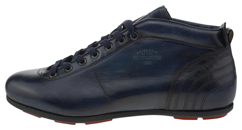 108181-410 Pantofola D 'oro Superstar sl16u scarpe da ginnastica in Pelle Blu Scuro EUR 41