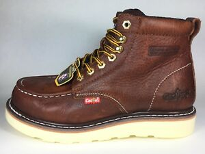 842b08c508c Details about CACTUS WORK BOOTS 6061M BROWN REAL LEATHER PUNCTURE RESISTANT  NEW IN BOX