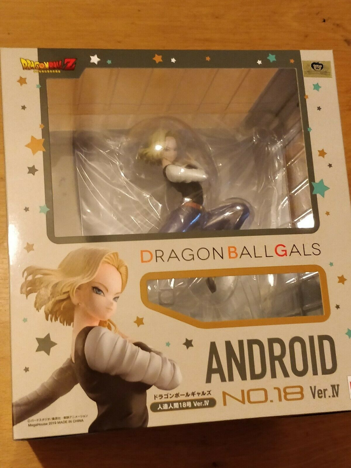 DRAGON BALL Z GALS ANDROID NO  18 VER. IV COMPLETE Figura - NEW AND SEALED