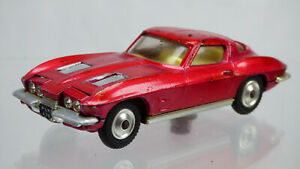 VINTAGE 1963 Chevrolet Corvette Sting Ray CORGI Sting Ray 310 da collezione auto giocattolo