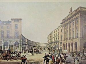 THE-QUADRANT-REGENT-STREET-1852-print-Delft-Day-amp-Son-Liberty-039-s-of-Regent