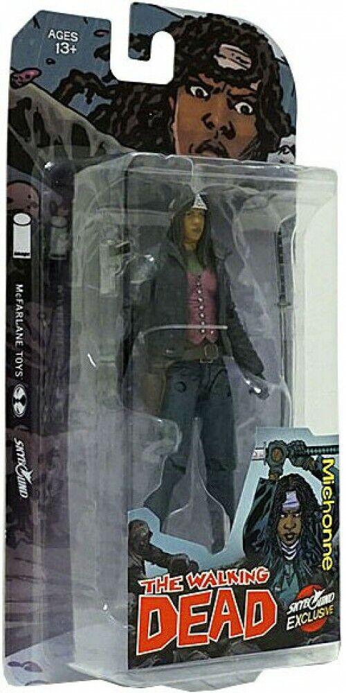 The promänading Dead Comic Michonne Exklusiv Action Figur [Full Färg]