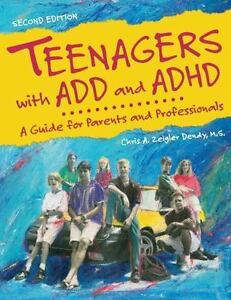 Lot-3-books-Teenagers-w-ADD-ADHD-Guide-for-Parents-amp-Professionals-by-DENEY