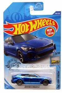 Hot Wheels 2020 Factory Fresh 2019 Kia Stinger GT Blue 198//250