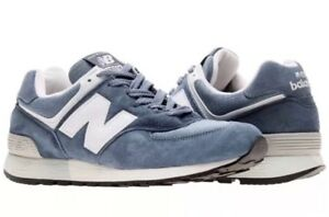 size 40 b4fac aeb75 Details about Men's New Balance 576 ND3 Blue/White/Grey (US576ND3) MADE IN  USA 🇺🇸 SZ 13