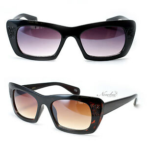 05abda336298 Thick Cat Eye Sunglasses Frame Vintage Retro Style for Women 50s 60s ...