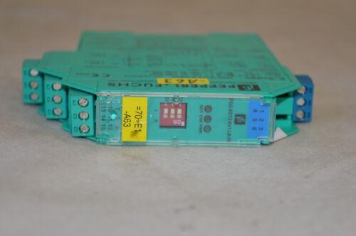 Pepperl+Fuchs Schaltverstärker KFD2-SOT2-Ex1.LB.IO T.066 181004