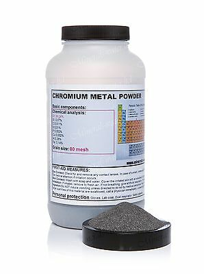 500g Chromium metal powder! top quality!