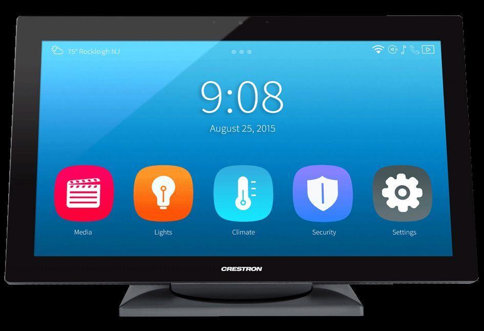 Crestron TS-1542-TILT-W-S 15.6  advanced Touch Screen  .    NEW