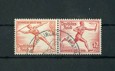 Schneidig Dr Nr.628+629 Zdr 141860 Ausgezeichnet Im Kisseneffekt Olympische Spiele Sst Berlin !!!