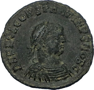 CONSTANTINE-II-Jr-321AD-Heraclea-Authentic-Ancient-Roman-Coin-JUPITER-i65797