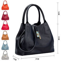 Ladies Gorgeous Real Leather  Hobo Shoulder Tote Bag Handbag