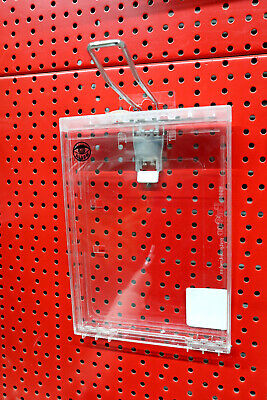 25 x Single Pegboard Lamellenwand Haken Anzeige Geschaeft 50mm O6Z9