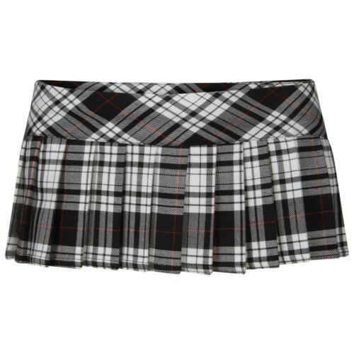 Ladies Women Tartan Check Mini Micro Pleated Skirt Sexiest 7 Inches you can wear