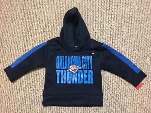 1b4fd34b0 Image is loading Oklahoma-City-Thunder-Basketball-Hoodie-Sweatshirt -2T-Toddler-