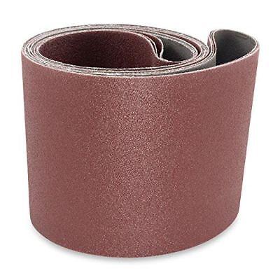 6 X 48 Inch Aluminum Oxide Multipurpose Sanding Belts 40 60 3 Pack 80 Grit