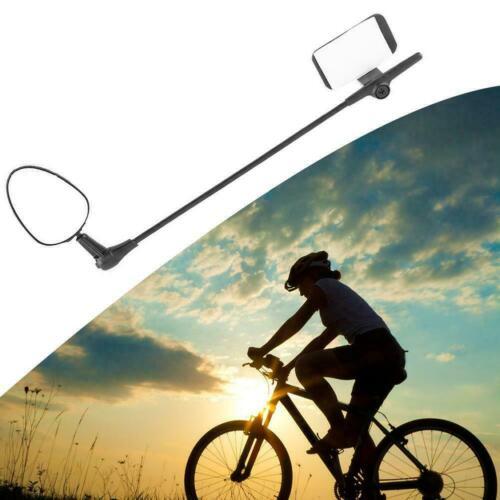 Bicycle Motorcycle Helmet Rearview Mirror Rear View Mirror Adjustable W6Y9