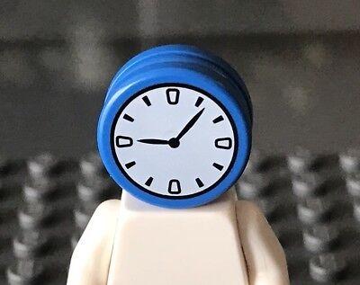 New LEGO MINIFIGURES BATMAN SERIES 2 CLOCK KING CLOCK HEAD X 1,PARTS