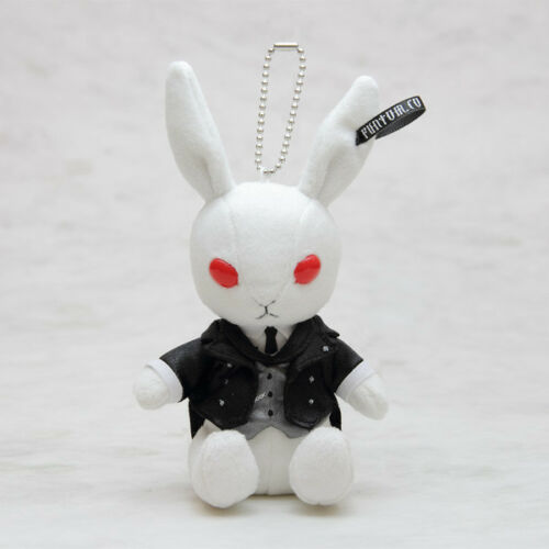 Black Butler Funtom Label Bitter Rabbit Plush Doll Sebastian Yana Toboso Square