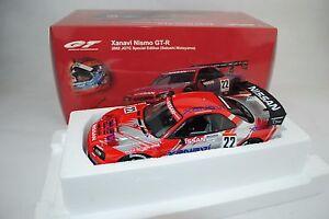 01:18 Autoart n ° 80285 Nissan Skyline Gt-r R34 - Année 2002 Nismo # 22 -rar-neu /