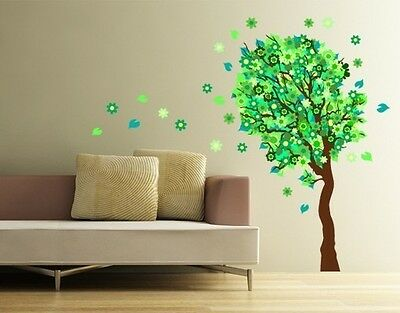 Blossom Tree II Wall Decal, Floral Decals, sticker, mural