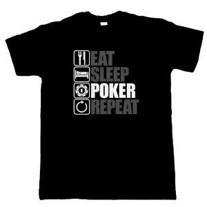 Eat-Sleep-Poker-Repeat-Mens-Funny-Gambling-T-Shirt-Gift-Dad