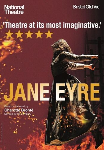 quality glossy A4 print NT BRISTOL OLD VIC JANE EYRE poster photograph