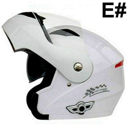 DOT Motorcycle Bluetooth Riding Modular Flip up Double Len Full Face Helmet US