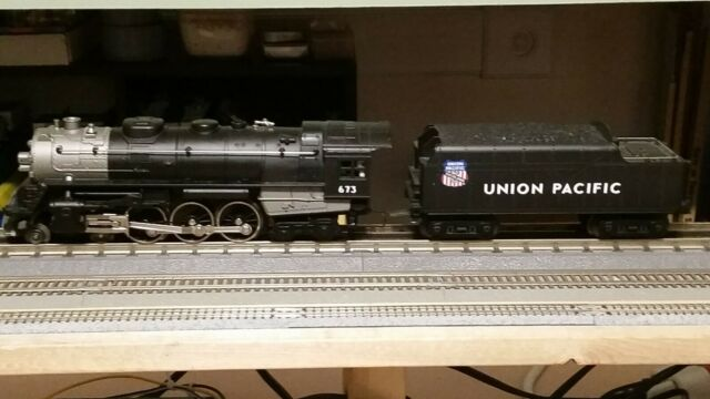 Lionel O Gauge 3 Rail. 4-6-4 Hudson Union Pacific with Railsounds.
