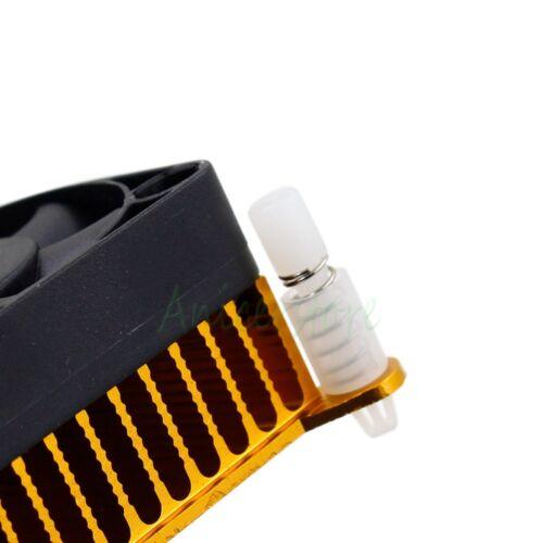 Aluminium Heatsink Fin Cooler w// 40mm Fan For PC Northbridge Chipset Cooling