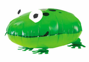 Diapositives-ballon-grenouille-animal-constamment-Helium-Ballon-Ballon-Anniversaire-Enfants