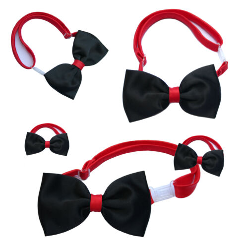 Baby Boys Child Teens Wedding Formal Suits Red Black Bow Tie S-20 0-20 years