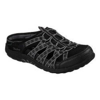 Comfort Shoes Skechers Women's Reggae Fest-marlin 49448 Black Memory Foam Brand New Women's Shoes