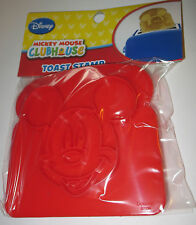 Mickey Mouse Toast Stamp Disney Clubhouse Make Design in Bread Kids Toys New