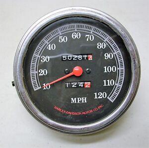 speedometer Vintage harley