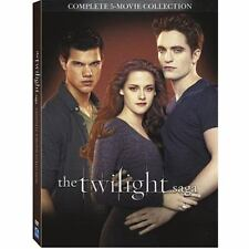 The Twilight Saga: Complete 5-Movie Collection (DVD, 2016, 2-Disc Set) BRAND NEW